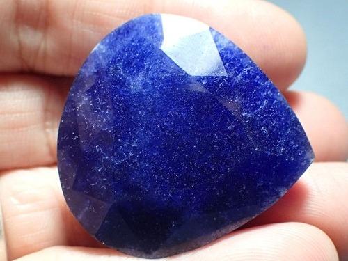 African Blue Sapphire Gemstone