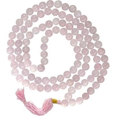 Rose Quartz Rosary - Mala