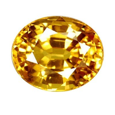 Yellow Sapphire - Peela Pukhraaj Ceylon